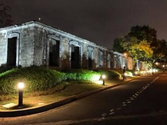Love the new lighting scheme of Fort Santiago.